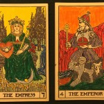 Empress an Emperor from the B.O.T.A. deck