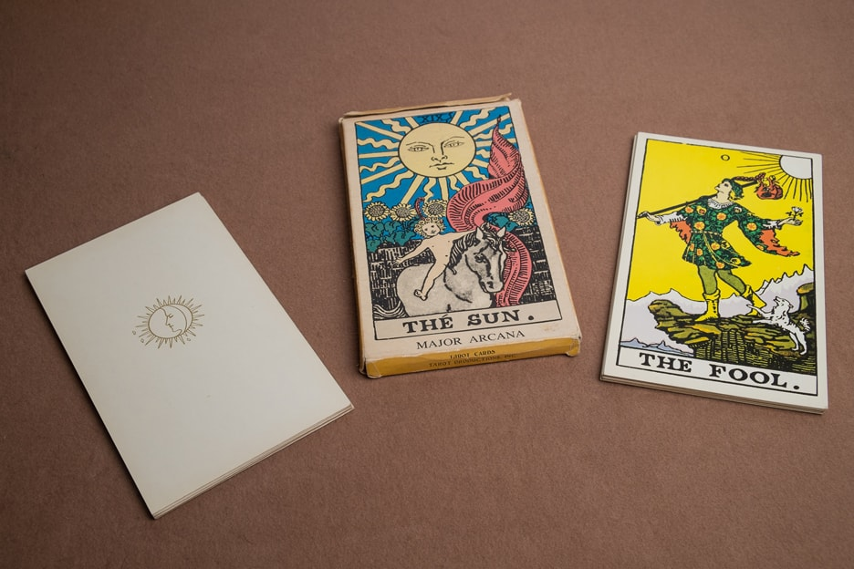 Albano Waite 22 Major Arcana Cards