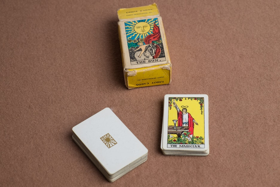Miniature Albano Waite Deck and box