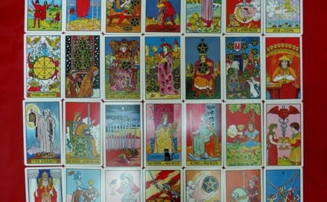 More example images from the 1st edition Waite-J.K. Tarot deck
