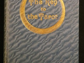 Cover of 1910 Key to the Tarot