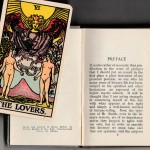 """B"" The Lovers with 1931 The Key to the Tarot"