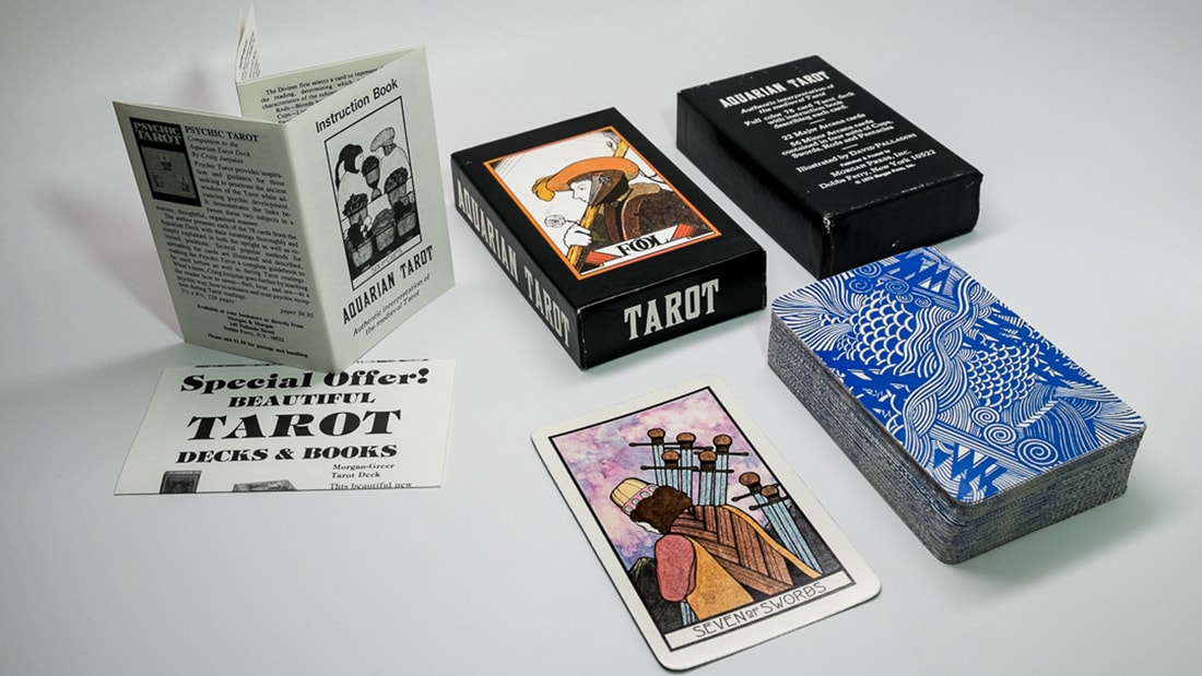 1980's Aquarian deck (4th edition)