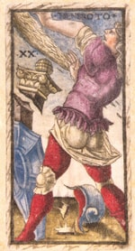 Sola Busca deck card 2