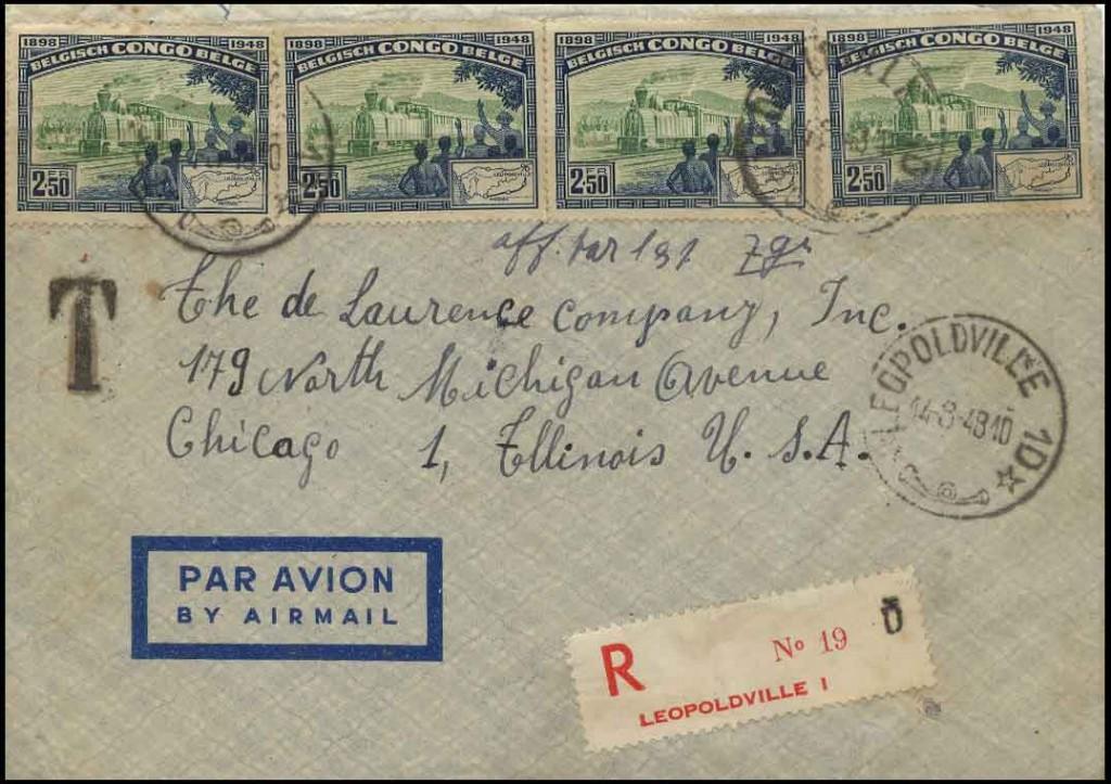 Aug 14, 1948 Belgian Congo