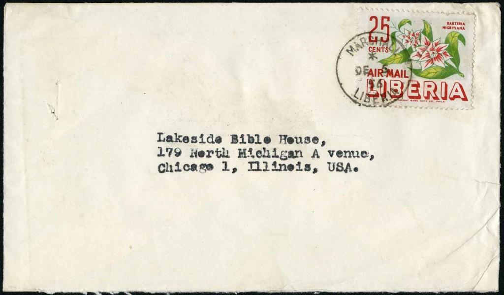 Dec 5, 1956 Liberia