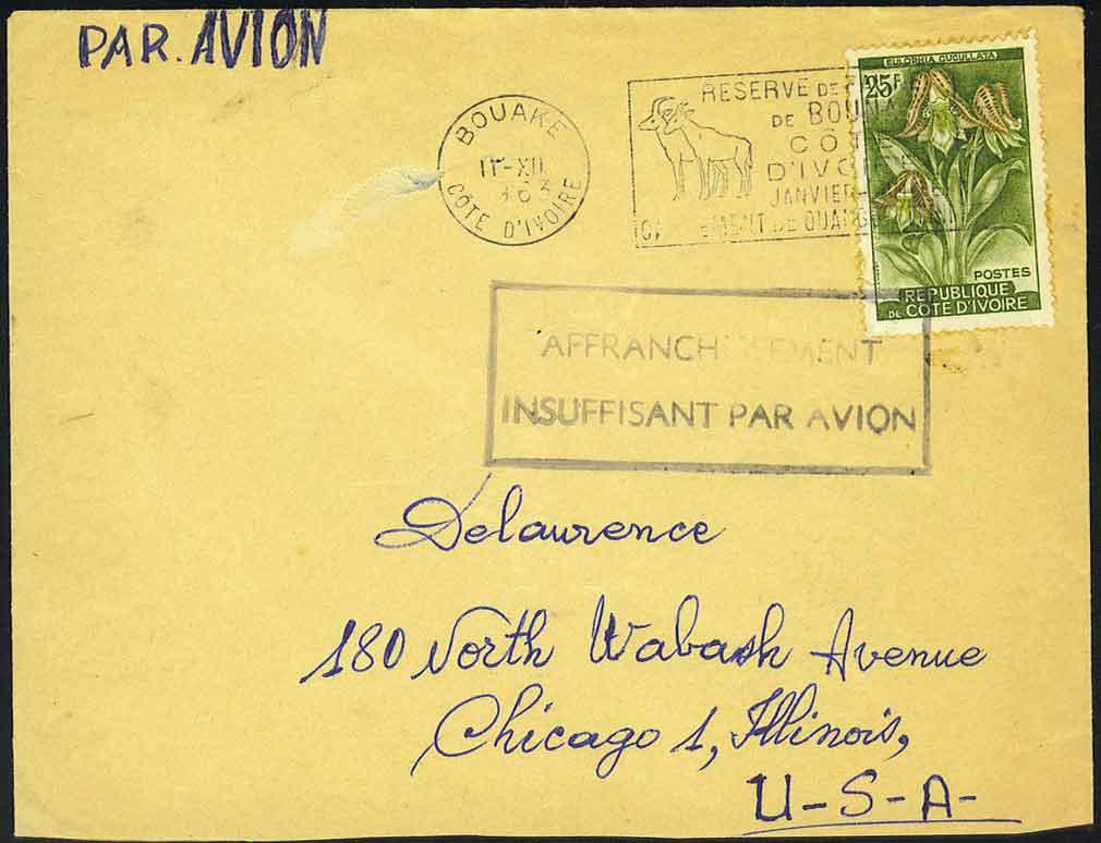 Dec 17, 1963 Cote D'ivoire