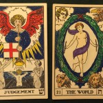 Two tarot trumps (BOTA)