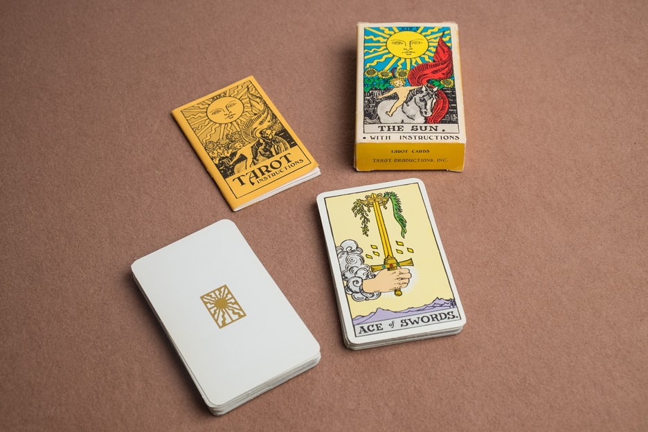 Albano Waite Tarot Productions Deck, LWB and Box