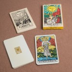 Temperance Card Albano Waite 22 Major Arcana cards, LWB and box