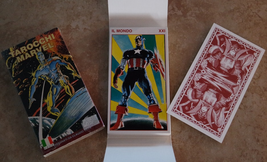 "Captain America ""World"" card"