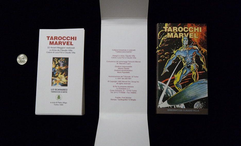 Tarrochi Marvel grey deck with box