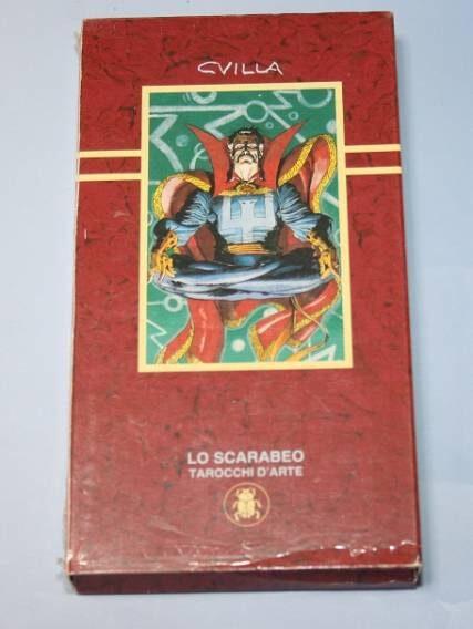 Tarocchi Marvel (red version) box