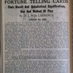 de Laurence 1916 catalog tarot ad (1)