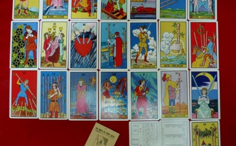 1st edition Waite-J.K. Tarot with LWB and instruction cards