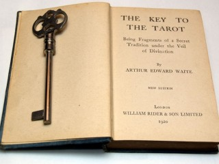 Title page of 1920 Key