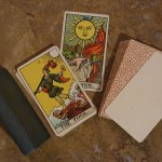 1931 tarot set C deck and book