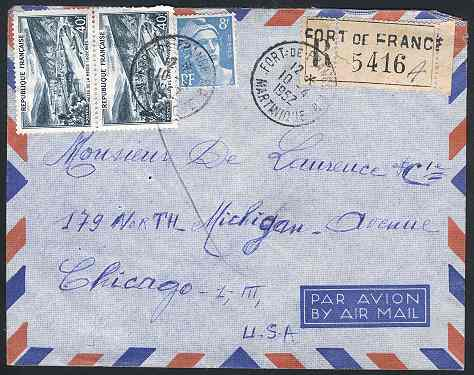 Apr 10, 1952 Martinique