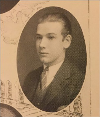 "Velo de Laurence High School Yearbook Image. Velo was the son of L.W. deLaurence, the infamous ""Yankee Pirate"" (according) who brought ""The Pictorial Key to the Tarot"" and Arthur Edward Waite's 1910 Rider Tarot deck to America. L.W. deLaurence only published one tarot deck (in 1916), but Velo produced the (now common) ""round yellow,"" ""round orange, and ""rounded corner red"" tarot decks for mail order through the 1980's."