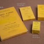 Just a sampling of Albano tarot deck boxes