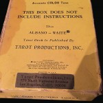 Alternate address of Tarot Productions, Inc on Albano - Waite box