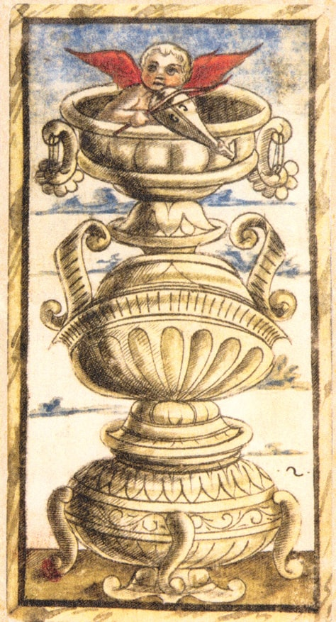 II of Cups, Sola Busca