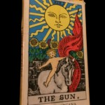 Albano - Waite box with Sun illustration