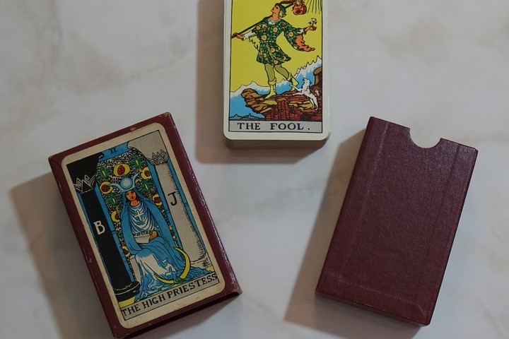 First edition deck with H.P. (back)