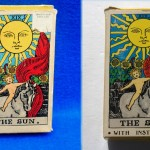 different views of the Albano - Waite box with Sun illustration